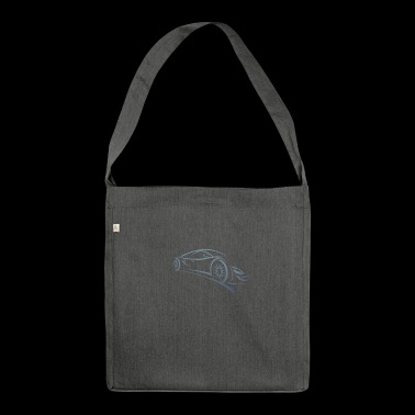 sportscar - Shoulder Bag made from recycled material