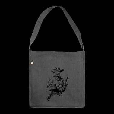 cowboy - Borsa in materiale riciclato