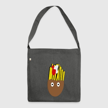 Fryhair logo - Shoulder Bag made from recycled material