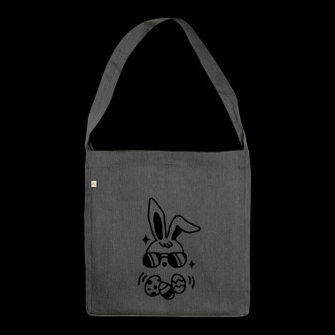 Mom and toddler matching easter bunny - Shoulder Bag made from recycled material