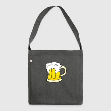 Beer beer - Shoulder Bag made from recycled material