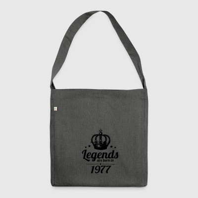Legends 1977 - Shoulder Bag made from recycled material