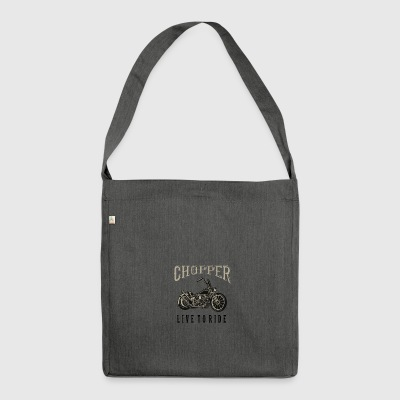 chopper - Shoulder Bag made from recycled material