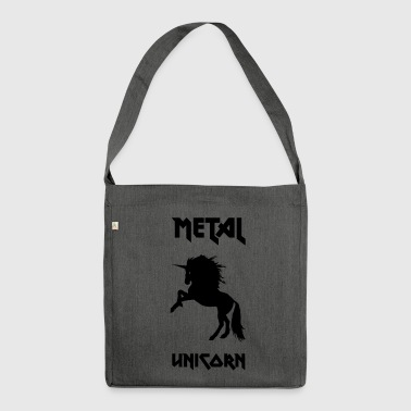 Metal Unicorn - Shoulder Bag made from recycled material