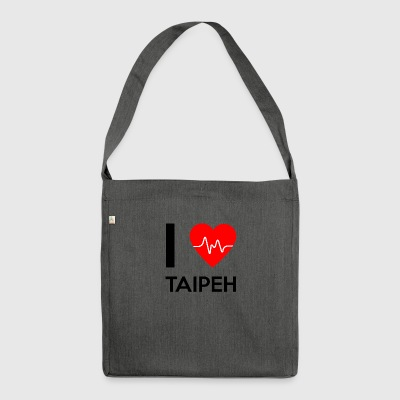 I Love Taipei - I Love Taipei - Shoulder Bag made from recycled material