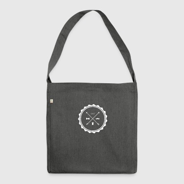 Angesagte Icons - Schultertasche aus Recycling-Material
