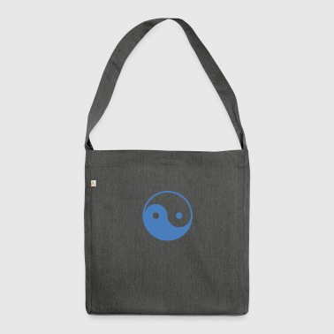 The ying and yang - Shoulder Bag made from recycled material