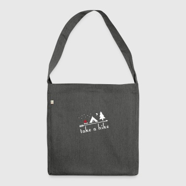 Let's move! - Shoulder Bag made from recycled material