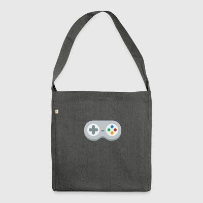 Gamepad! - Schultertasche aus Recycling-Material