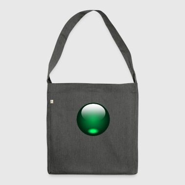 Green - Shoulder Bag made from recycled material