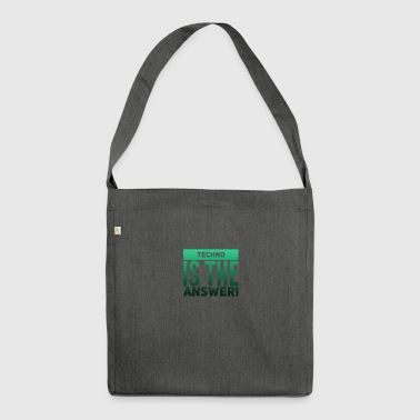 TECHNO - Shoulder Bag made from recycled material