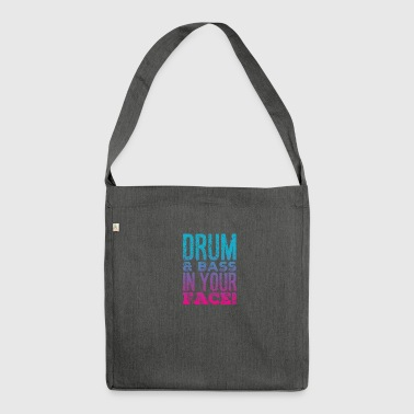 DRUM AND BASS - Shoulder Bag made from recycled material