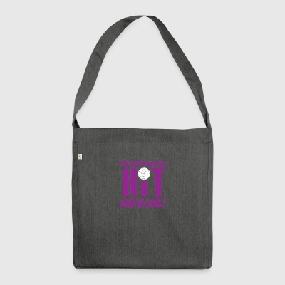girl - Shoulder Bag made from recycled material