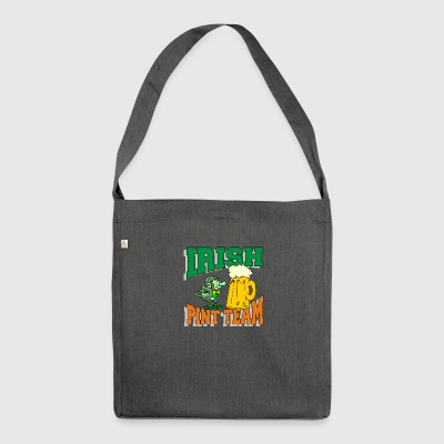 Irish Drinking Team Pint - Schultertasche aus Recycling-Material