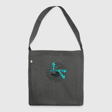 Psytrancer - Shoulder Bag made from recycled material