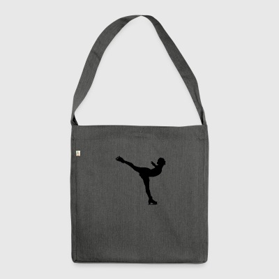 ice dancer - Shoulder Bag made from recycled material