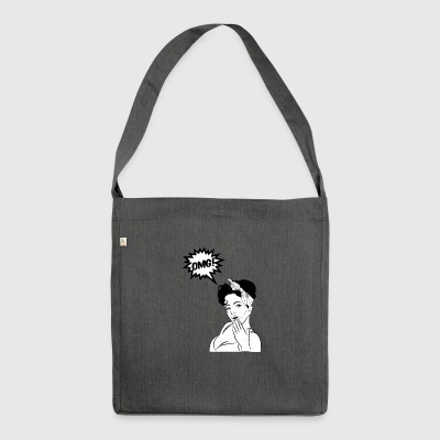 Pin-up / Rockabilly / '50: OMG! - Borsa in materiale riciclato
