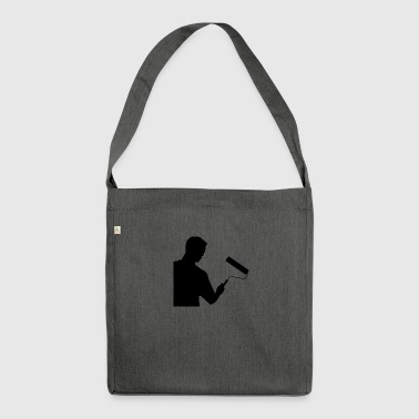 painter - Shoulder Bag made from recycled material