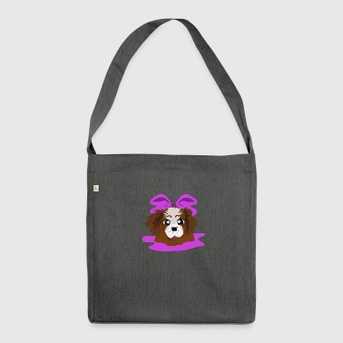 pink puppy - Borsa in materiale riciclato