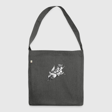 Pegasus Flight - Shoulder Bag made from recycled material