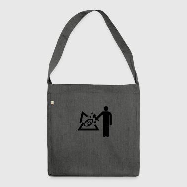 illuminati - Shoulder Bag made from recycled material