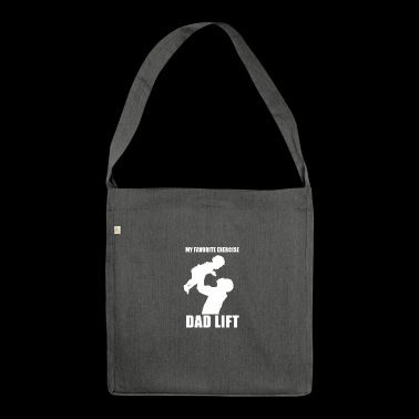 Dad Lift - Schultertasche aus Recycling-Material