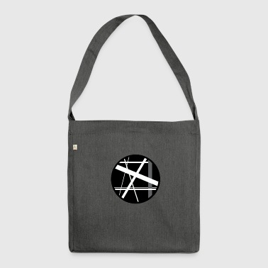 circular lines - Shoulder Bag made from recycled material