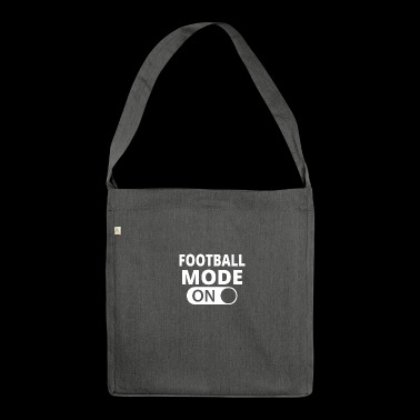 MODE ON FOOTBALL - Shoulder Bag made from recycled material