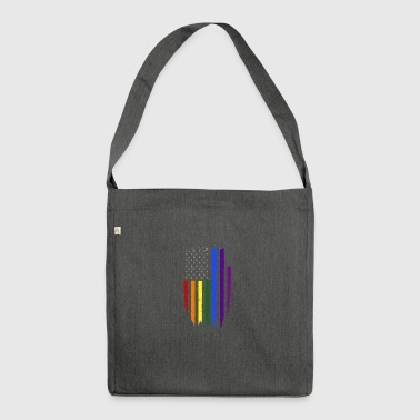 US Gay - Borsa in materiale riciclato