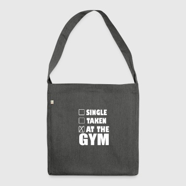 At the Gym - Shoulder Bag made from recycled material