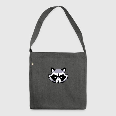 Raccoon raccoon - Shoulder Bag made from recycled material