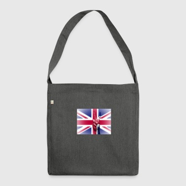 United Kingdom Flag - Shoulder Bag made from recycled material