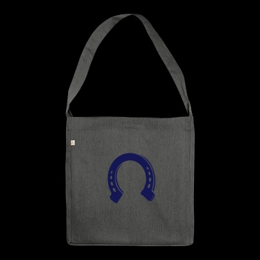 Horseshoes for riders - Shoulder Bag made from recycled material