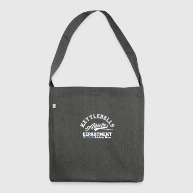 Kettlebell Athletic Department - Shoulder Bag made from recycled material