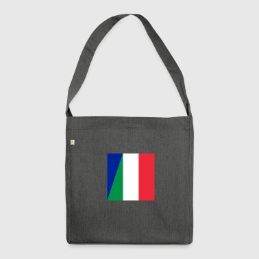Double nationality - Shoulder Bag made from recycled material