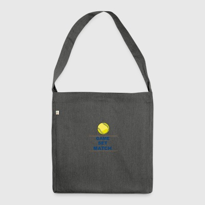 gamesetmatch - Shoulder Bag made from recycled material