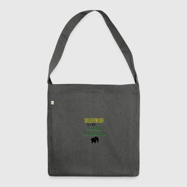 Wildlife rehabilitator - Schultertasche aus Recycling-Material
