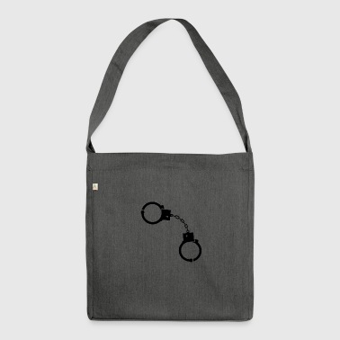 Policeman Handcuffs Prostitutes In The Bar! - Shoulder Bag made from recycled material