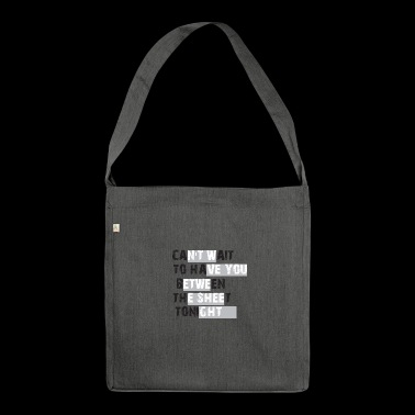 Naughty naughty - Shoulder Bag made from recycled material