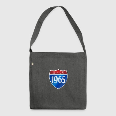 Since 1965 - Schultertasche aus Recycling-Material