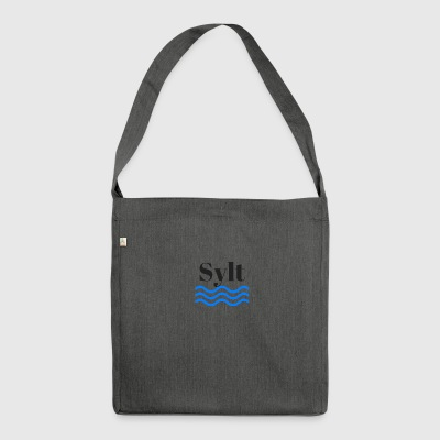 Sylt - Schultertasche aus Recycling-Material