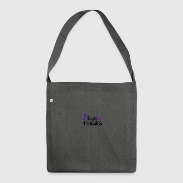 Logo tee shirt Reiki - Shoulder Bag made from recycled material