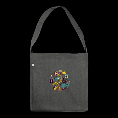Music instruments - Shoulder Bag made from recycled material