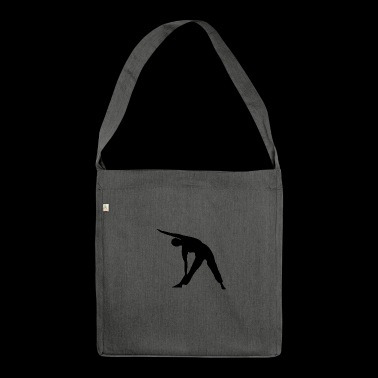 Yoga exercise - Shoulder Bag made from recycled material