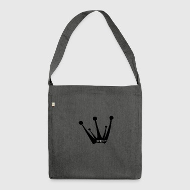 Crown, crown, prince, prince - Shoulder Bag made from recycled material