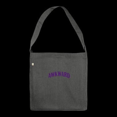 Embarrassing cool sayings - Shoulder Bag made from recycled material