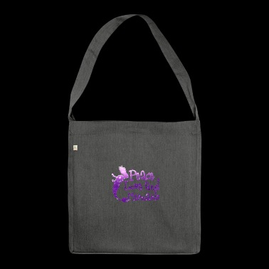 Mermaid / Mermaid: Peace Love And Mermaids - Shoulder Bag made from recycled material