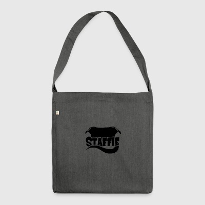 Silhouette Staffie - Shoulder Bag made from recycled material