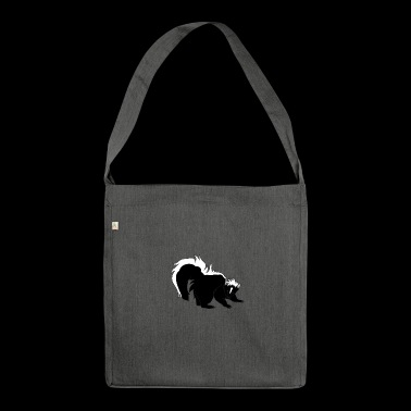 skunk skunk baby9 - Shoulder Bag made from recycled material
