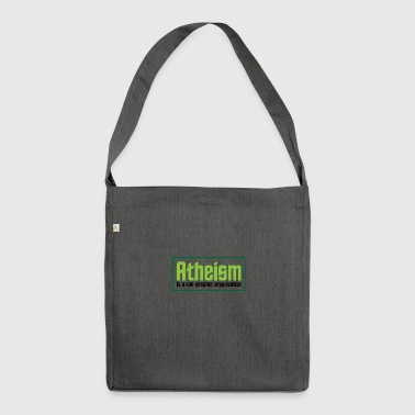 Atheism: A Non-prophet Organization - Shoulder Bag made from recycled material